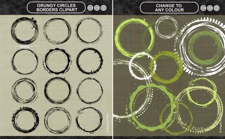 Grungy Circles Promo